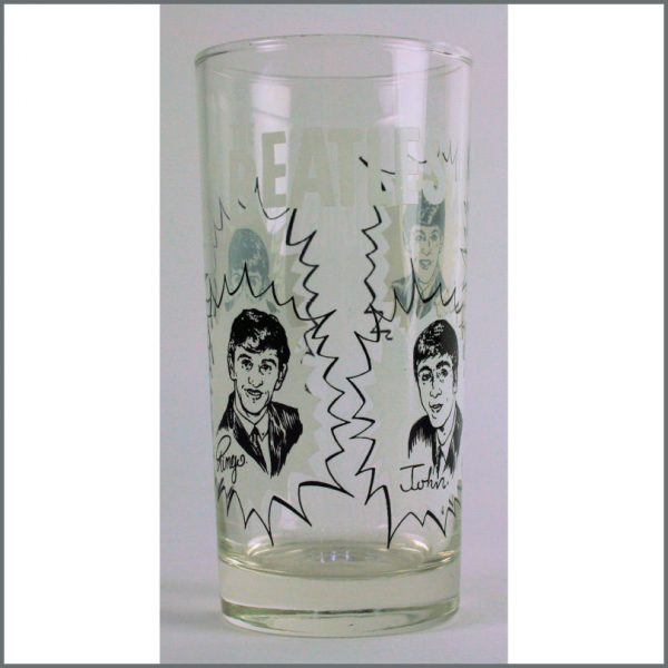 B23958 - The Beatles 1964 Dairy Queen Glass (Canada)