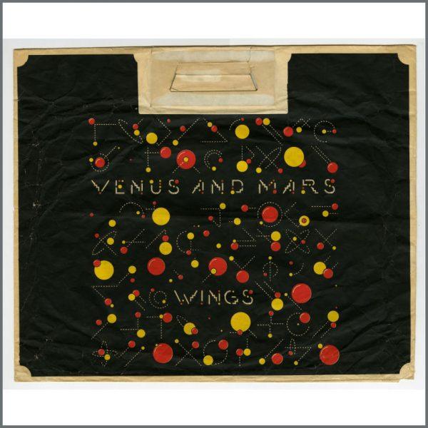 B23970 - Wings 1975 Venus And Mars Promotional Paper Bag (UK)