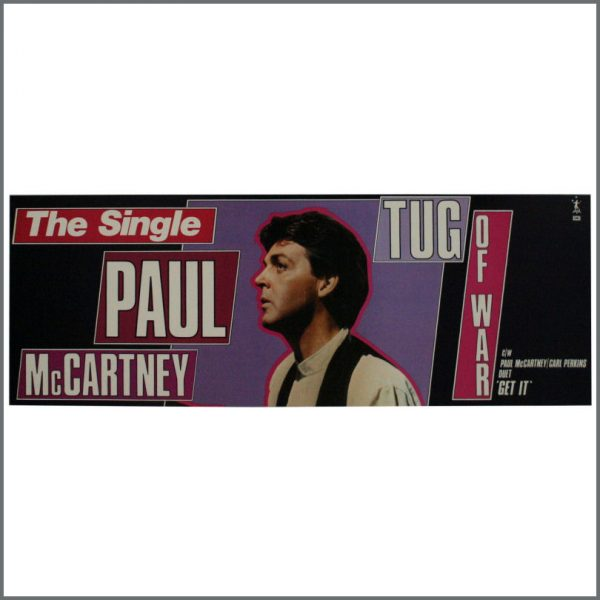 B24062 - Paul McCartney 1982 Tug Of War Poster (UK)