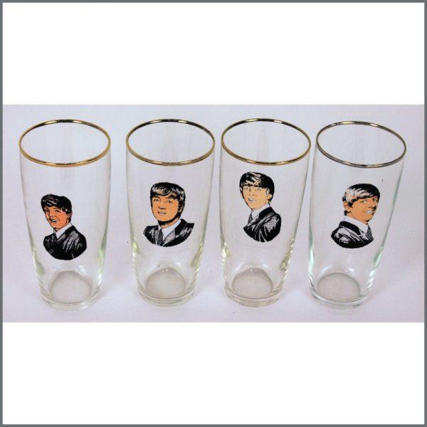 B24123 - The Beatles 1964 Drinking Glasses Set (Holland)