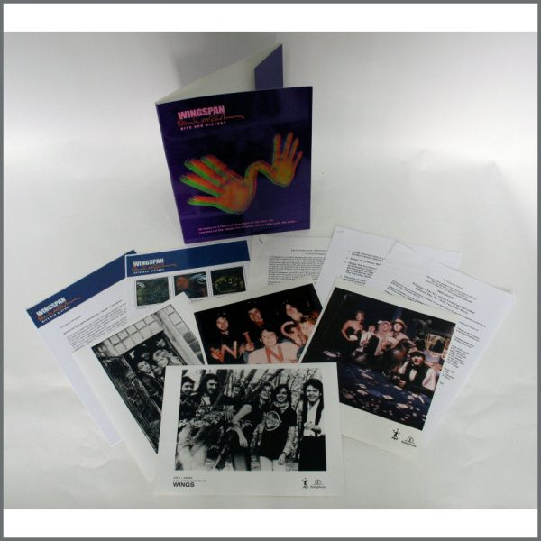 B24197 - Wingspan Paul McCartney Hits And History Press Kit (UK)