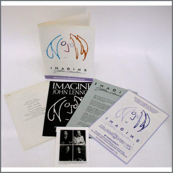 B24199 - Imagine John Lennon Media Information UK Press Kit (UK)