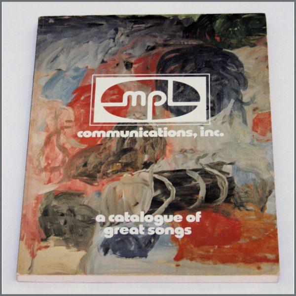 B24203 - MPL Communications Song Publishing Catalogue 1978 (UK)