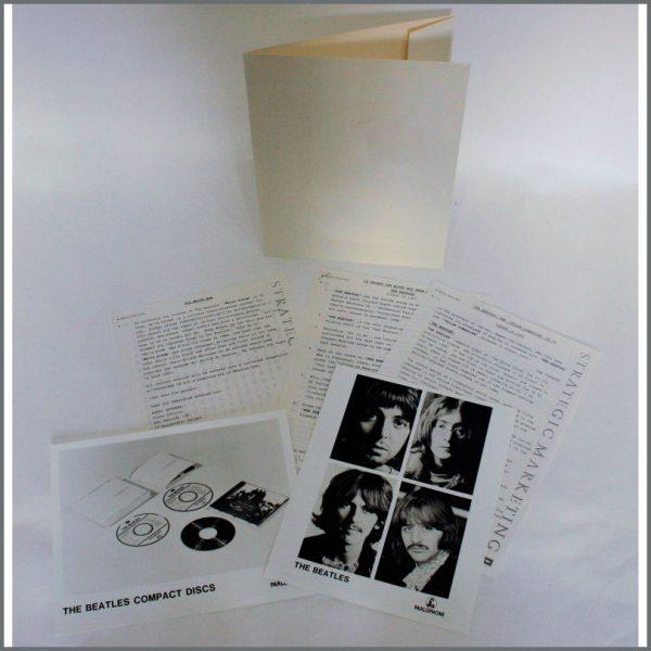 B24208 - The Beatles 1987 White Album EMI Press Kit (UK)