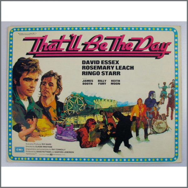 B24241 - Ringo Starr That'll Be The Day Campaign Book (UK)