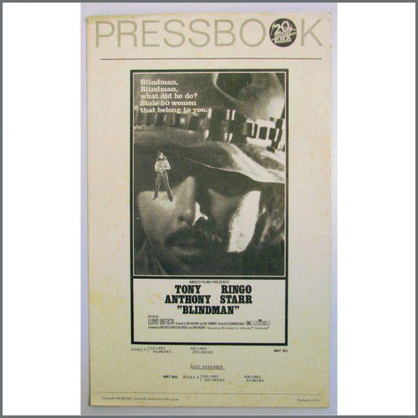 B24242 - Ringo Starr Blindman Press Book (USA)