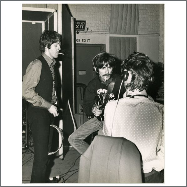 B24257 - The Beatles 1967 All You Need Is Love Leslie Bryce Vintage Photograph (UK)
