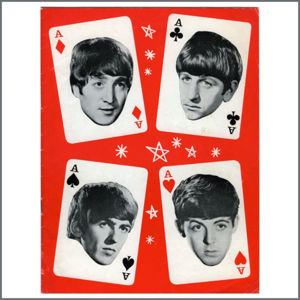 B24278 - The Beatles/Mary Wells 1964 Four Aces Tour Programme (UK)
