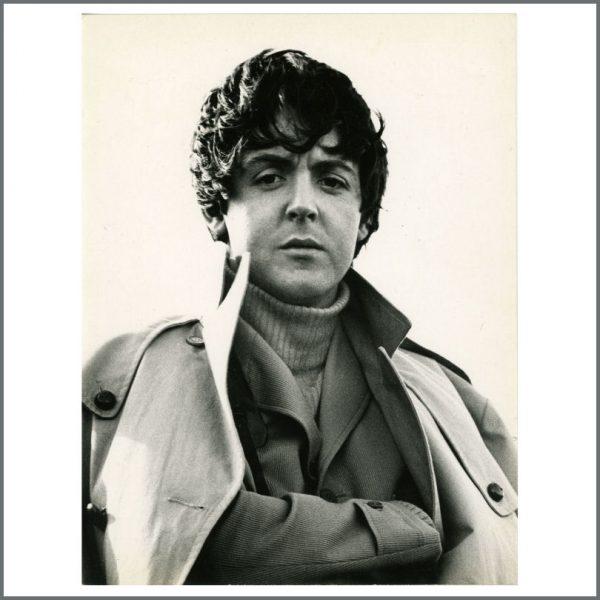 B24329 - Paul McCartney 1965 Leslie Bryce Vintage Portrait Photograph (UK)