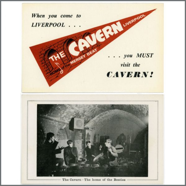 B24417 - The Beatles Cavern Promotional Card (UK)