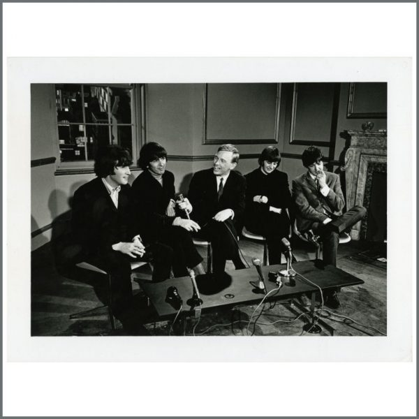 B24428 - The Beatles 1965 MBE Nomination Interview Photograph (UK)