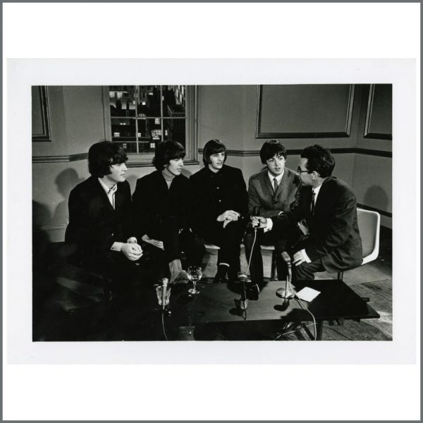 B24429 - The Beatles 1965 MBE Nomination Interview Photograph (UK)