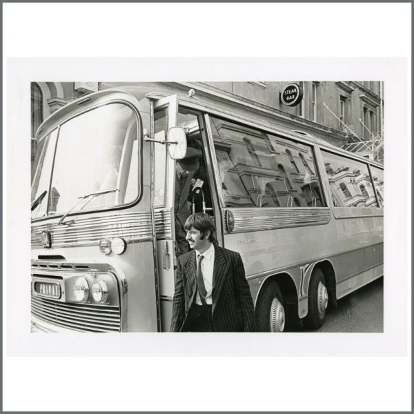 B24437 - Ringo Starr 1967 Magical Mystery Tour Newquay Photograph (UK)