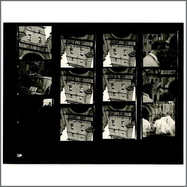 B24523 – The Beatles 1966 Schlosshotel Tremsbuttel Germany Contact Sheets (Germany) 2