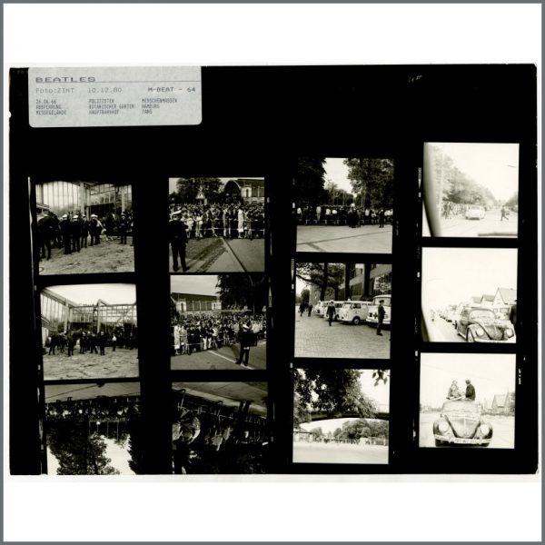 B24530 – The Beatles 1966 Schlosshotel Tremsbuttel Contact Sheets (Germany) 3
