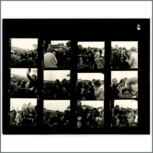 B24531 – The Beatles 1966 Hamburg Fulsbuttel Airport Contact Sheets (Germany) 2