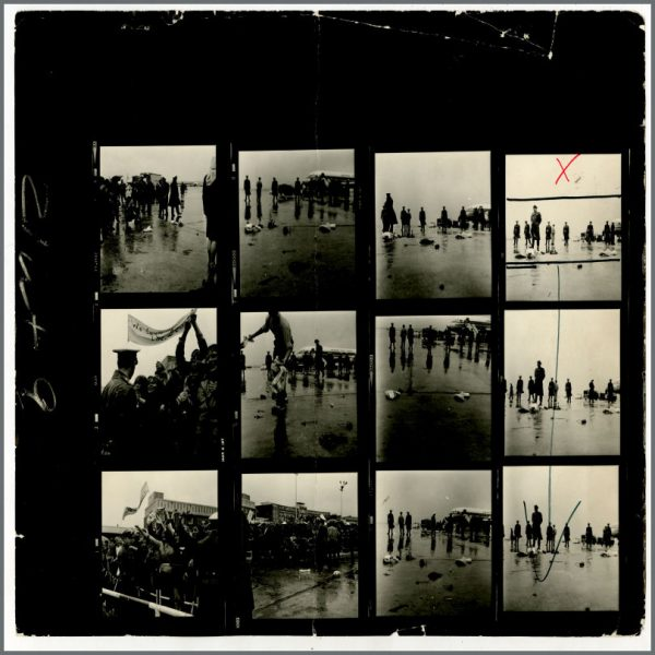 B24531 – The Beatles 1966 Hamburg Fulsbuttel Airport Contact Sheets (Germany) 3