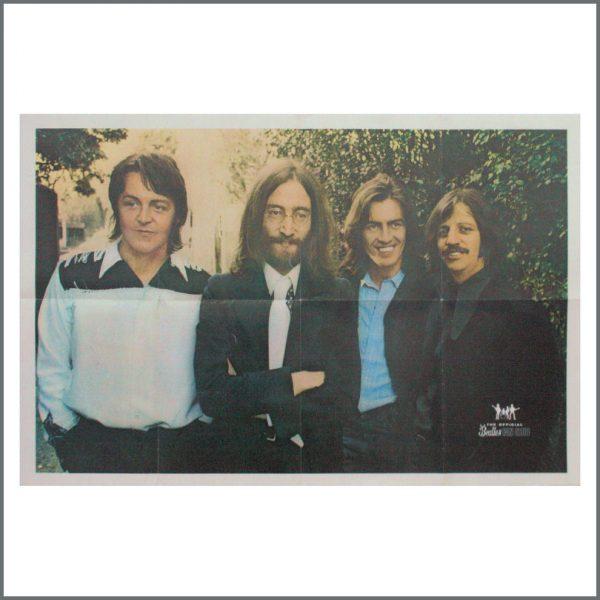 B24548 - The Beatles 1969 Original Fan Club Poster (UK)