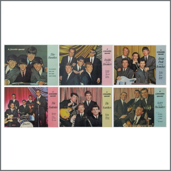 B24555 – The Beatles / Gerry & The Pacemakers 1960s Reveille Special Colour Posters (UK)