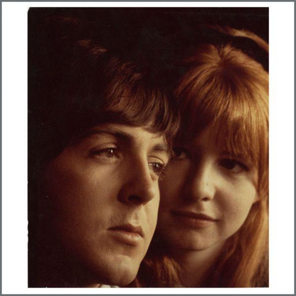 B24560 - Paul McCartney & Jane Asher Vintage Photograph (USA)