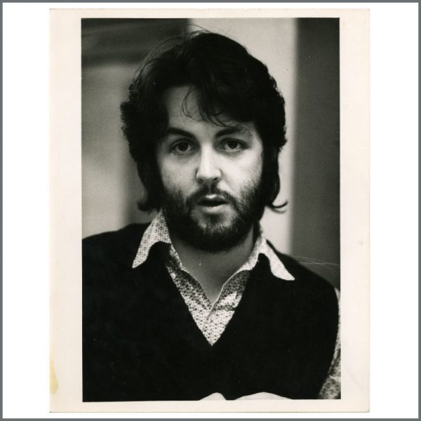 B24565 - Paul McCartney 1970s Vintage Photograph By Linda McCartney