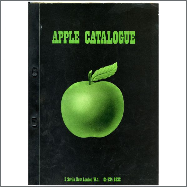 B24579 - The Beatles 1971 Apple Records Catalogue (UK)