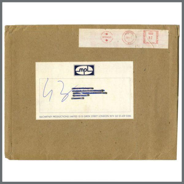 B24614 - Paul McCartney 1975 MPL Envelope (UK)