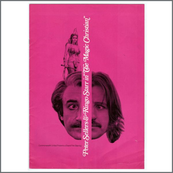 B24737 - Ringo Starr 1969 The Magic Christian Press Book (USA)