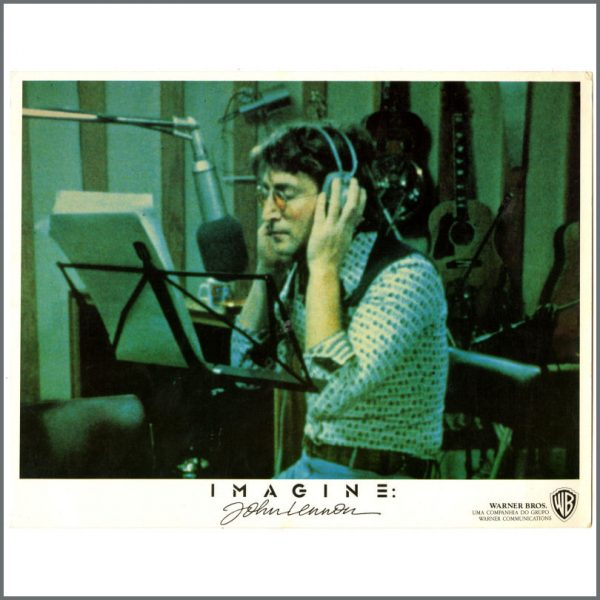 B24753 – John Lennon 1988 Imagine Documentary Lobby Cards (USA) 2