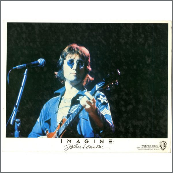 B24753 – John Lennon 1988 Imagine Documentary Lobby Cards (USA) 3