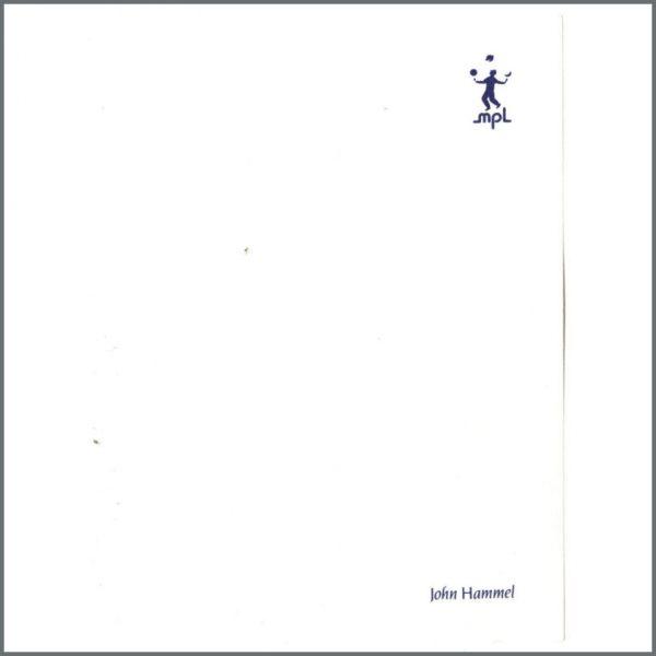 B24768 - Paul McCartney MPL Notepaper Sheet (UK)