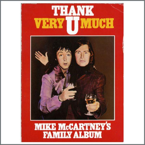 B24844 – Paul McCartney 2004 Signed Mike McCartney Book (UK) 2