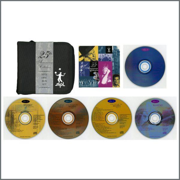 B24887 - Paul McCartney 1996 MPL 25th Anniversary Promotional CD Set (USA)