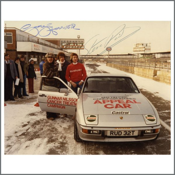 R&R SEPT 2018 B24933 - George Harrison 1979 Signed Silverstone Photograph (UK)