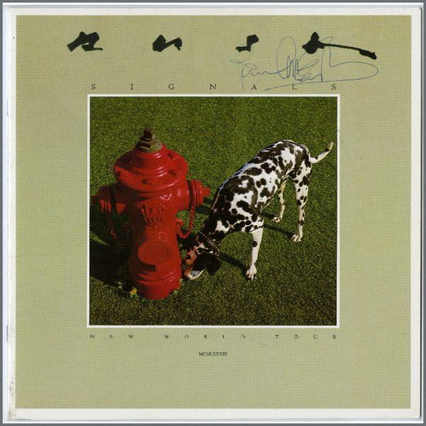B24936 - Paul McCartney 1983 Signed Rush Tour Programme (UK)