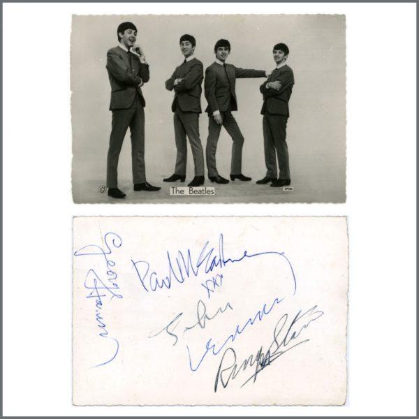 B24968 - The Beatles 1963 Weston-Super-Mare Autographs (UK)