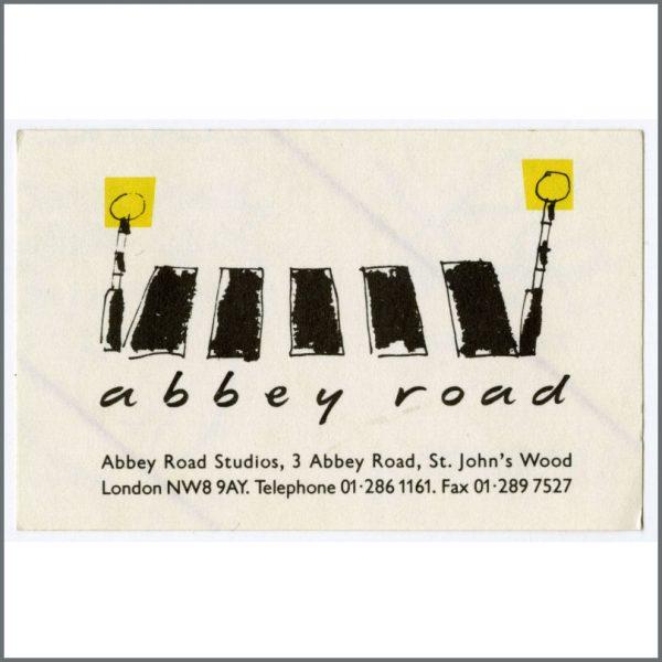 B25044 - Abbey Road Studios 1990s Sticker (UK)
