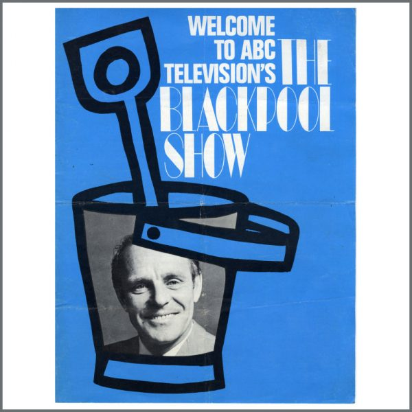 B25049 - Cilla Black 1967 ABC Television The Blackpool Show Souvenir Programme (UK)