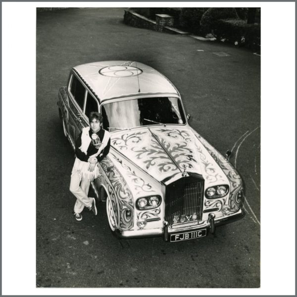B25069 - John Lennon 1967 Leslie Bryce Rolls Royce Vintage Photograph (UK)