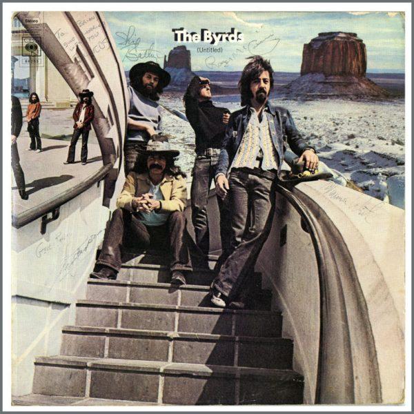 B25073 - The Byrds Autographed LP (UK)