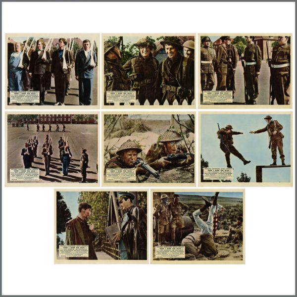 B25088 - John Lennon 1967 How I Won The War Lobby Cards (UK)