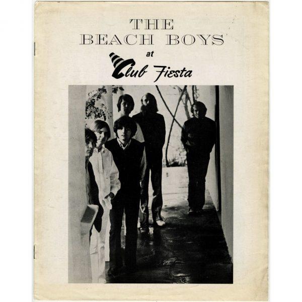 B25175 - The Beach Boys 1970 Club Fiesta Sheffield Concert Programme & Handbill (UK)
