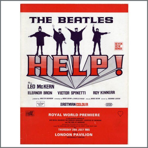 B25177 - The Beatles 1964 HELP! Programme (UK)