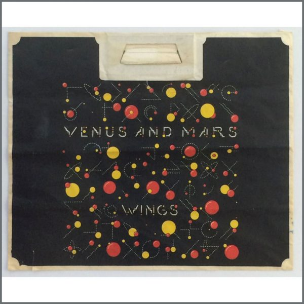B25195 - Wings 1975 Venus And Mars Promotional Paper Bag (UK)