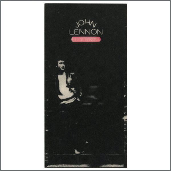 B25312 - John Lennon 1975 Rock 'n' Roll Promotional Sticker