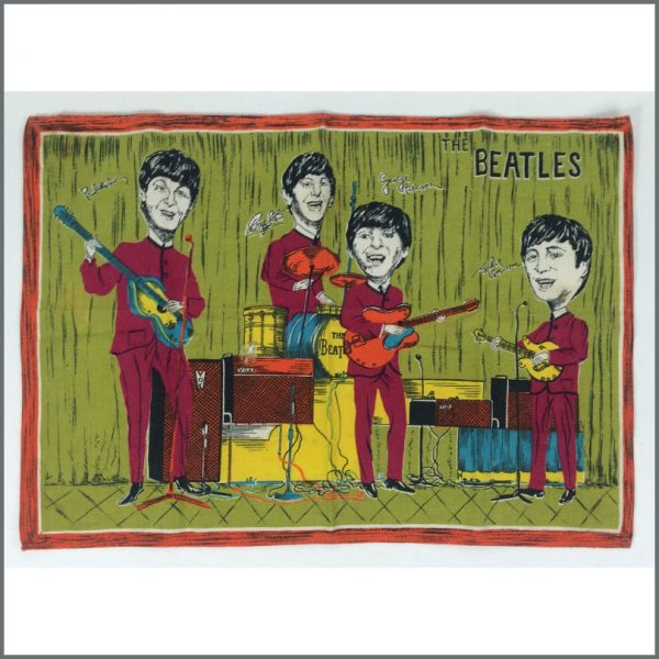 B25321 - The Beatles 1960s Tea Towel (UK)