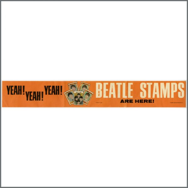 B25323 - The Beatles 1960s Stamps Promotional Banner (USA)