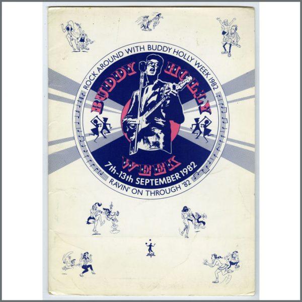 B25325 - Paul McCartney 1982 Buddy Holly Week Press Kit (UK)