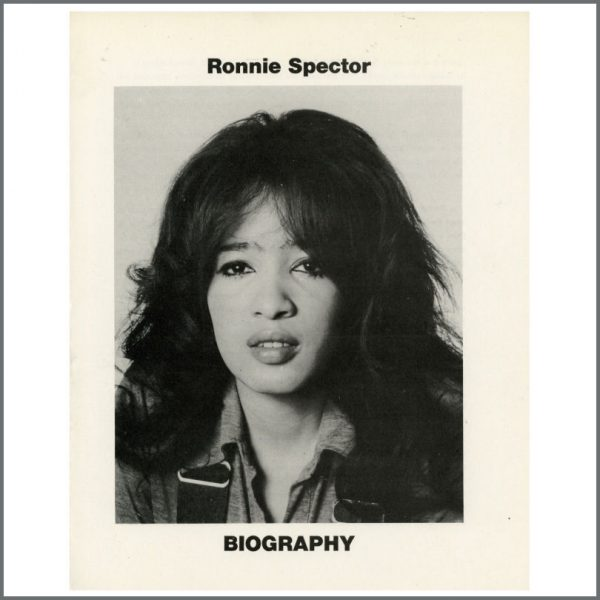 B25383 – Ronnie Spector 1971 Apple Records Biography (UK) 1