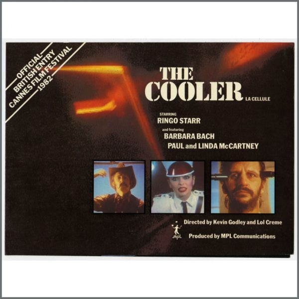 B25425 - Paul McCartney / Ringo Starr 1982 The Cooler MPL Promotional Booklet (UK)